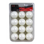 SMARTPLAY 2 Star WHITE Table Tennis Balls - PACK OF 12 SMARTPLAY 2 Star WHITE Table Tennis Balls - PACK OF 12