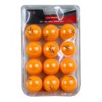 SMARTPLAY 2 Star Orange Table Tennis Balls - PACK OF 12 SMARTPLAY 2 Star Orange Table Tennis Balls - PACK OF 12