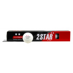 SMARTPLAY 2 Star WHITE Table Tennis Balls - BOX OF 6 SMARTPLAY 2 Star WHITE Table Tennis Balls - BOX OF 6