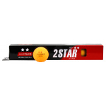 SMARTPLAY 2 Star Orange Table Tennis Balls - BOX OF 6 SMARTPLAY 2 Star Orange Table Tennis Balls - BOX OF 6