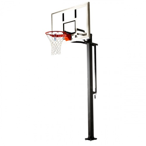 Spalding 48 inch Glass In-Ground Basketball System