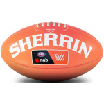 Sherrin AFLW Replica Training Ball - Coral - Size 4 Sherrin AFLW Replica Training Ball - Coral - Size 4