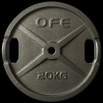 Olympic Fitness STD 25kg Weight Plate Olympic Fitness STD 25kg Weight Plate