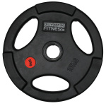 Olympic Fitness Rubber Olympic Size Weight Plate - 15kg Olympic Fitness Rubber Olympic Size Weight Plate - 15kg