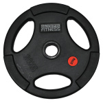 Olympic Fitness Rubber Olympic Size Weight Plate - 20kg Olympic Fitness Rubber Olympic Size Weight Plate - 20kg