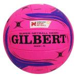 Gilbert Super Netball Neon Supporter Ball Gilbert Super Netball Neon Supporter Ball