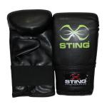 STING Junior Boxing Gloves - BLACK/GREEN STING Junior Boxing Gloves - BLACK/GREEN