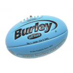 BURLEY Soft Touch AFL Embossed Football - BLUE - SIZE 1 BURLEY Soft Touch AFL Embossed Football - BLUE - SIZE 1