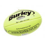 BURLEY Soft Touch AFL Embossed Football - FLURO LIME - SIZE 1 BURLEY Soft Touch AFL Embossed Football - FLURO LIME - SIZE 1