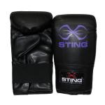 STING Junior Boxing Gloves - BLACK/PURPLE STING Junior Boxing Gloves - BLACK/PURPLE