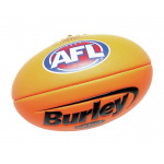 BURLEY Soft Touch AFL Embossed Football - FLURO ORANGE - SIZE 1 BURLEY Soft Touch AFL Embossed Football - FLURO ORANGE - SIZE 1