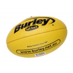BURLEY Soft Touch AFL Embossed Football - YELLOW - SIZE 1 BURLEY Soft Touch AFL Embossed Football - YELLOW - SIZE 1