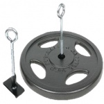 Mani Disc Weight Eye Hook Mani Disc Weight Eye Hook