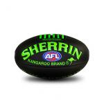 Sherrin Super Soft Touch Football - NEON GREEN - SIZE 3 Sherrin Super Soft Touch Football - NEON GREEN - SIZE 3