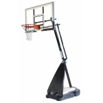 Spalding 54 inch Glass Ultimate Hybrid Basketball System Spalding 54 inch Glass Ultimate Hybrid Basketball System