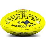 Sherrin KB Training Football - Fluro Yellow Sherrin KB Training Football - Fluro Yellow