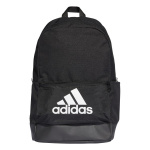 Adidas Classic Badge of Sport Backpack - Black/Black/White Adidas Classic Badge of Sport Backpack - Black/Black/White