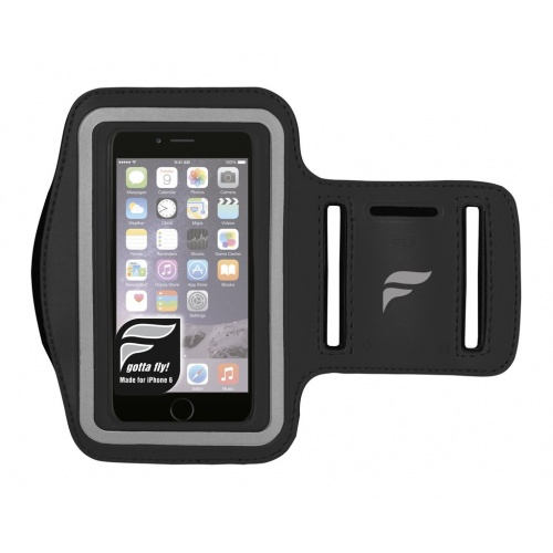 Fly Active IPhone 6 Audio Armband - BLACK
