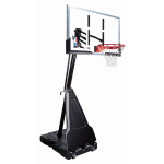 Spalding 60 inch Acrylic Diamond Portable Basketball System Spalding 60 inch Acrylic Diamond Portable Basketball System