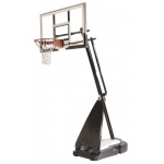 Spalding 54 inch Acrylic Ultimate Hybrid Portable Basketball System Spalding 54 inch Acrylic Ultimate Hybrid Portable Basketball System