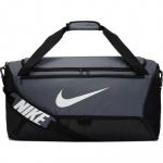 Nike Brasilia 9.0 Medium Training Duffle Bag - FLINT GREY/BLACK Nike Brasilia 9.0 Medium Training Duffle Bag - FLINT GREY/BLACK