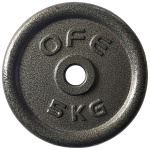 Olympic Fitness STD 5kg Weight Plate Olympic Fitness STD 5kg Weight Plate