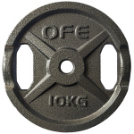 Olympic Fitness STD 10kg Weight Plate Olympic Fitness STD 10kg Weight Plate