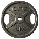 Olympic Fitness STD 15kg Weight Plate Olympic Fitness STD 15kg Weight Plate