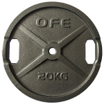 Olympic Fitness STD 20kg Weight Plate Olympic Fitness STD 20kg Weight Plate