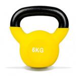 Olympic Fitness Vinyl Kettlebell - 6kg Olympic Fitness Vinyl Kettlebell - 6kg