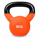 Olympic Fitness Vinyl Kettlebell - 8kg Olympic Fitness Vinyl Kettlebell - 8kg