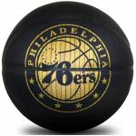 Spalding NBA Hardwood Series Philadelphia 76ers Basketball - Size 7 Spalding NBA Hardwood Series Philadelphia 76ers Basketball - Size 7