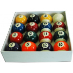 Alliance Kelly Pool Ball 1 7/8-inch Set Alliance Kelly Pool Ball 1 7/8-inch Set