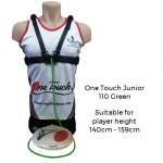 Ross Faulkner One Touch Junior Football Trainer - GREEN Ross Faulkner One Touch Junior Football Trainer - GREEN