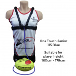 Ross Faulkner One Touch Senior Football Trainer - BLUE Ross Faulkner One Touch Senior Football Trainer - BLUE
