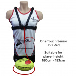 Ross Faulkner One Touch Senior Football Trainer - RED Ross Faulkner One Touch Senior Football Trainer - RED