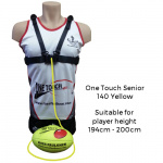 Ross Faulkner One Touch Senior Football Trainer - YELLOW Ross Faulkner One Touch Senior Football Trainer - YELLOW