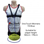 Ross Faulkner One Touch Womens Football Trainer - BLUE Ross Faulkner One Touch Womens Football Trainer - BLUE