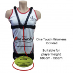 Ross Faulkner One Touch Womens Football Trainer - RED Ross Faulkner One Touch Womens Football Trainer - RED