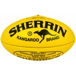 Sherrin KB Football Veg Tan Yellow - Size 5 Sherrin KB Football Veg Tan Yellow - Size 5