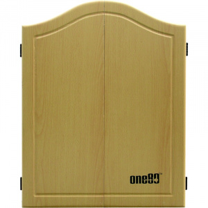 ONE80 Gable MDF Dartboard Cabinet