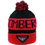 Burley Essendon Bombers AFL Bar Beanie Burley Essendon Bombers AFL Bar Beanie