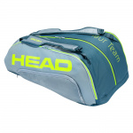 Head Tour Team Extreme 12R Monstercombi Tennis Bag - GREY/NEON YELLOW Head Tour Team Extreme 12R Monstercombi Tennis Bag - GREY/NEON YELLOW