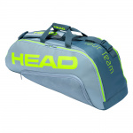 Head Tour Team Extreme 6R Combi Tennis Bag - GREY/NEON YELLOW Head Tour Team Extreme 6R Combi Tennis Bag - GREY/NEON YELLOW