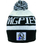 Burley Collingwood Magpies AFL Bar Beanie Burley Collingwood Magpies AFL Bar Beanie