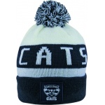 Burley Geelong Cats AFL Bar Beanie Burley Geelong Cats AFL Bar Beanie