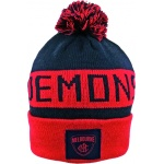 Burley Melbourne Demons AFL Bar Beanie Burley Melbourne Demons AFL Bar Beanie