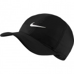 Nike Aerobill Featherlight Tennis Cap - BLACK Nike Aerobill Featherlight Tennis Cap - BLACK