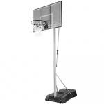 Spalding 48 Inch Industrial Acrylic Portable Basketball System Spalding 48 Inch Industrial Acrylic Portable Basketball System