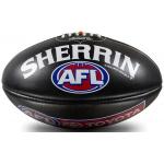 Sherrin KB AFL Game Ball - Black/Silver Sherrin KB AFL Game Ball - Black/Silver